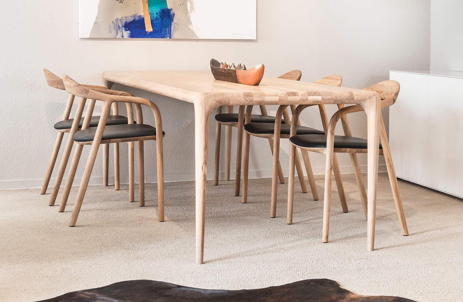 design tafel hout