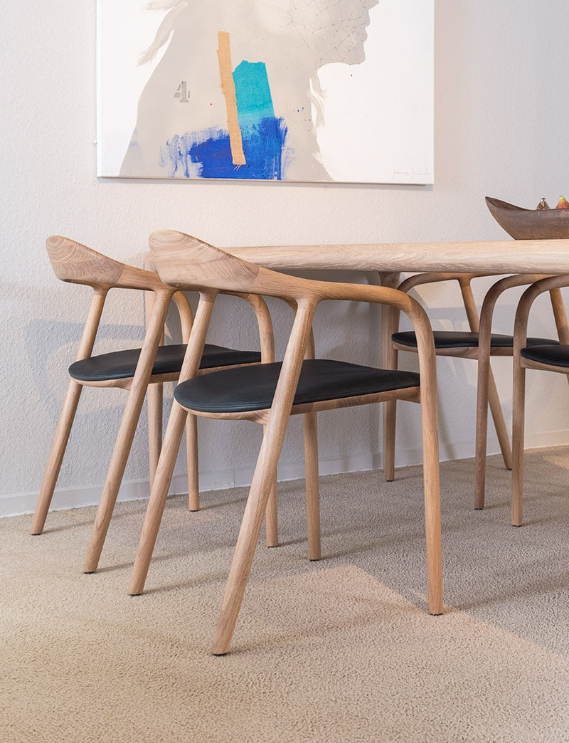 Design Houten Stoelen.Artisan Design Stoel Neva Interclass