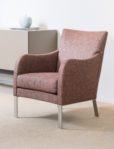 Stoffen fauteuil