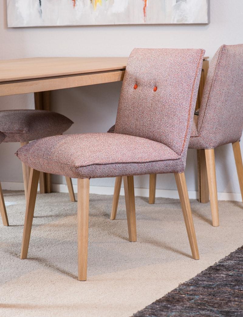 stoffen design stoel